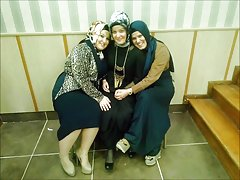 Turkisk-arabisk-asiatiska hijapp mix foto 7