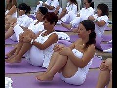 Jag spelade in yoga flickor