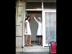Turkisk-arabisk-asiatiska hijapp mix foto 27