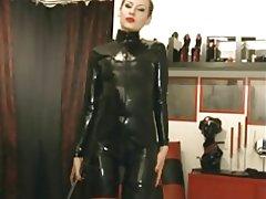 Latex sexig på webbkamera
