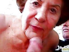 Mormor (74) den gamla giriga kokusmatte