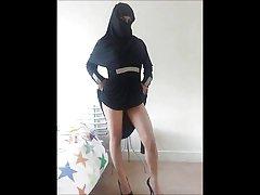 Turkisk-arabisk-asiatiska hijapp mix foto 12
