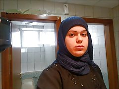 Turkisk-arabisk-asiatiska hijapp mix foto 20
