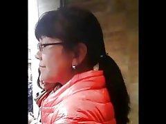 Kinesiska milf ass