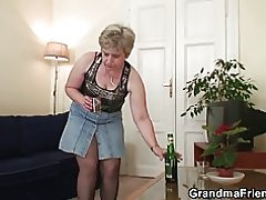 Gamla granny dubbelmacka