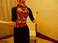 Sexiga hijab arab egyptisk flicka blir knullad grov