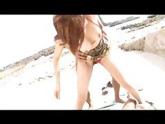 Asiatiska Trekant på stranden
