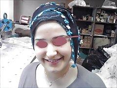 Turkisk-arabisk-asiatiska hijapp mix foto 23